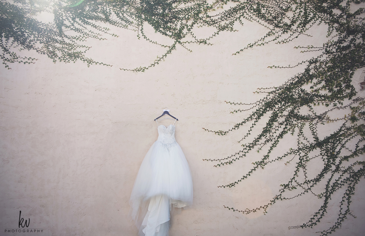 Gorgeous wedding dress at Bella Collina