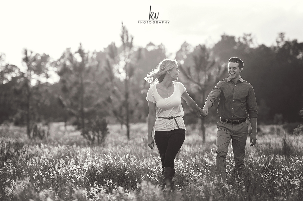 Engagement session in Orlando Florida