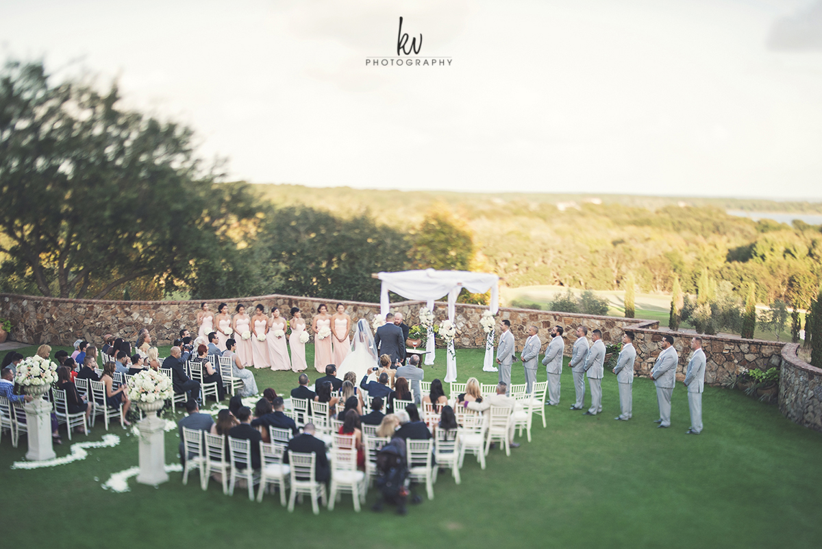 Beautiful Ceremony at Bella Collina