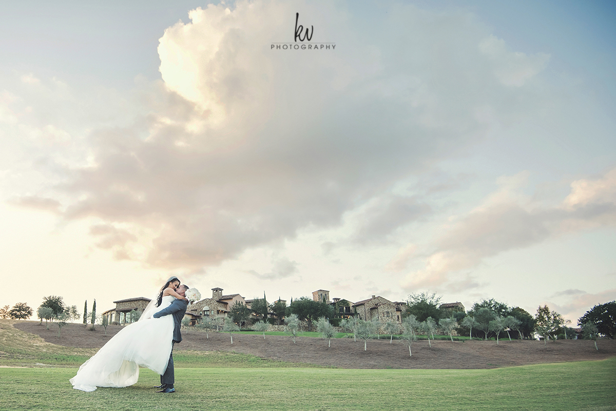 Breathtaking Bella Collina bride and groom