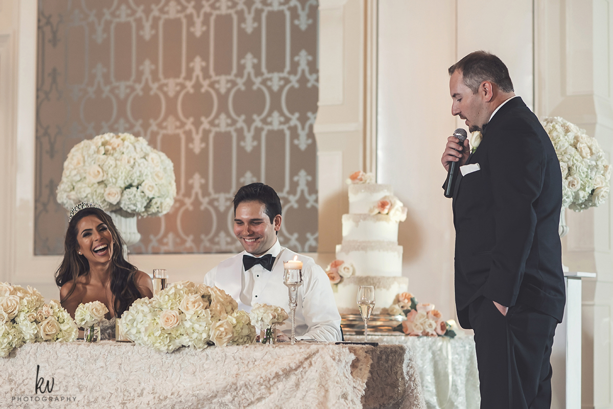 Fun wedding reception held at the Four Seasons Orlando Photographer